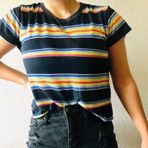 Urban Outfitters Small Striped Shirt